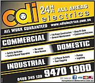 CDI Electrical contractors Perth for home electrical services Perth