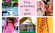 Activities for girls: Five things to make and do