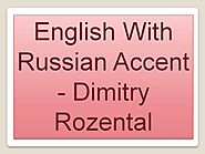 English with Russian accent