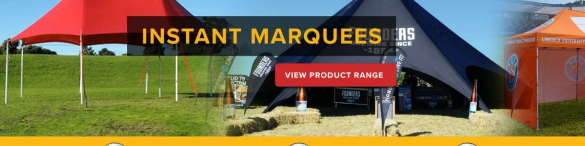 Headline for Shedline Instant Marquees