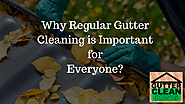 Why Regular Gutter Cleaning is Important for Everyone?