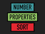 Number Properties Sort
