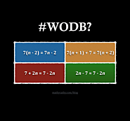 #WODB Equations Warm-Up