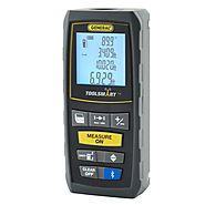 General Tools TS01 ToolSmart Bluetooth Connected Laser Distance Measure