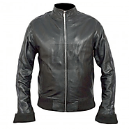 Orange County Ryan Atwood Black Leather Jacket - Ben McKenzie