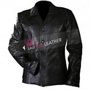 Black Killing Them Softly Leather Jacket | Sale On Leather