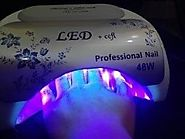 48w UV Nail Dryer CCFL LED Gel Light Polish Curing Lamp with Timer Setting for Acrylic Gelish Shellac Profesional Salon
