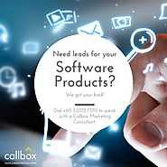 Software Products - B2B Lead Generation