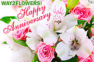 Unique Anniversary Flowers Online