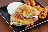 1. Chicken Bacon Ranch Sandwich