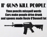 Guns kill people