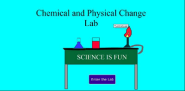 Chemical and Physical Change Module