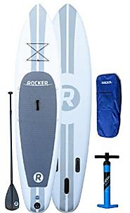 "iRocker Paddle Board 11' (6"" Thick) Inflatable SUP Package 
