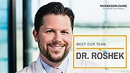 """Meet Our Doctors: Thomas Roshek, MD, FACS """