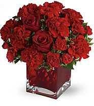 Leading Online Red Flowers Deliver Services in Dubai