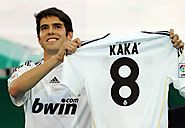 Kaká - £56m - AC Milan To Real Madrid - 2009