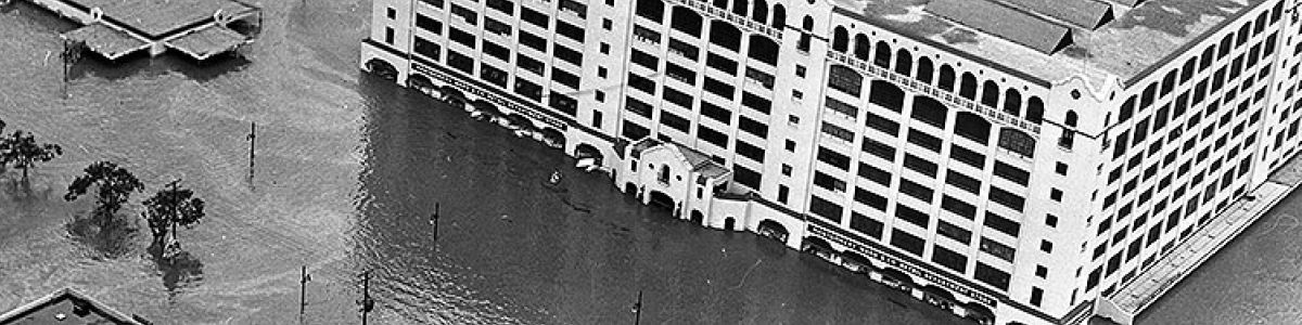 Headline for Fort Worth flood of May 1949