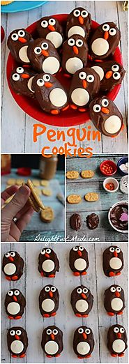 Penguin Cookies - The Perfect Holiday
