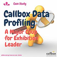 Callbox Data Profiling A Major Coup for Exhibition Leader