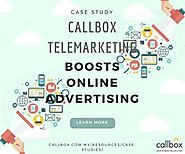 Callbox Telemarketing Boosts Online Advertising