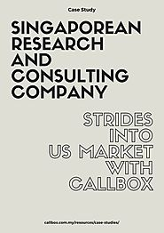 Singaporean Research and Consulting Company Strides into US Market with Callbox