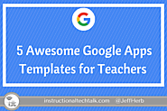 5 Awesome Google Docs, Slides, and Sheets Templates to Use With Students