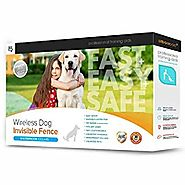 Secure-Pet Invisible Dog Fence By Sit Boo-Boo with 2 Wireless Collars, Safe & Harmless Pet Containment System, Easy I...