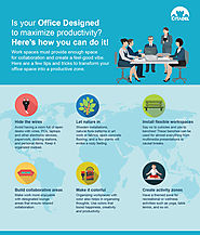 Infographic – 6 Tips to Design your Office to Maximize Productivity