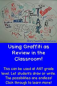 Creating a Graffiti Wall in the Classroom - HoJo's Teaching