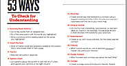 50+ Ways to Do Formative Assessment in Class