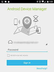 Protect your Android phone from loss or theft