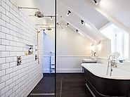 Decide on the bathroom lighting plan
