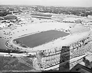 Construction of the new Fair Park (Cotton Bowl)