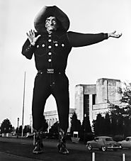 Big Tex in 1957