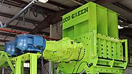 ECO Green Giant | Two-Shaft Tire Shredder