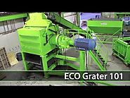 ECO Grater | Secondary Tire Shredder | ECO Green Equipment, USA