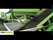 Huge Car Tire Shredder Recycling Equipment Plant