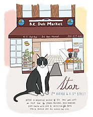 Charming Illustrations Document the Beloved Bodega Cats of Brooklyn