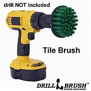 Power Brush Tile Scrubbing Rotary Scrub Bit