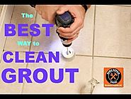 Best Way to Clean Grout (EVER!!!) -- by Home Repair Tutor