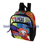 School Lunch Bag with Front Pocket