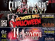 Club Zombie, Monster Ball and Vampire Masquerade at Couture Nightclub in Hollywood, CA.