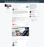 LinkedIn Unveils New Look Desktop Experience, New Features