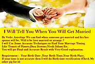 Predict timing of your MARRIAGE or relationship by astrology