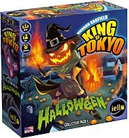 King of Tokyo Halloween Expansion Board Game