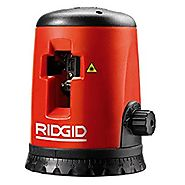 Ridgid CL-100 Micro Self-Leveling Cross-Line Laser with Tripod