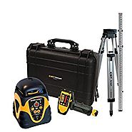 CST/berger 57-ALHPKG Electronic Self Leveling Horizontal Rotary Laser Level Complete Kit