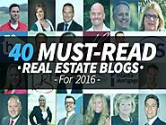40 Must-Read Real Estate Blogs