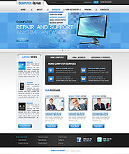 Computer Repair v2.5 Joomla Theme