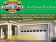 Repair or Replacement of Various Parts of the Garage Door